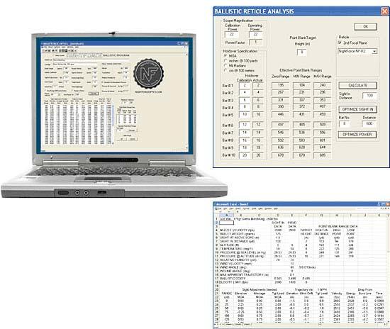 ballistic software